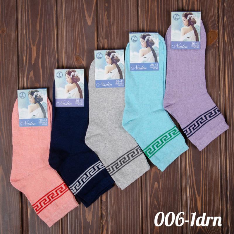 Носки женские цветные 36-41 Nadin 006-1drn