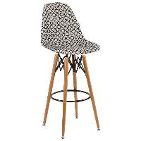 Стул барный Tilia Eos-V сиденье с тканью, ножки буковые ARTCLASS 802, фото 1