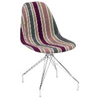 Стілець Tilia Eos-X сидіння з тканиною, ніжки металеві хромовані ARTCLASS 903, фото 1