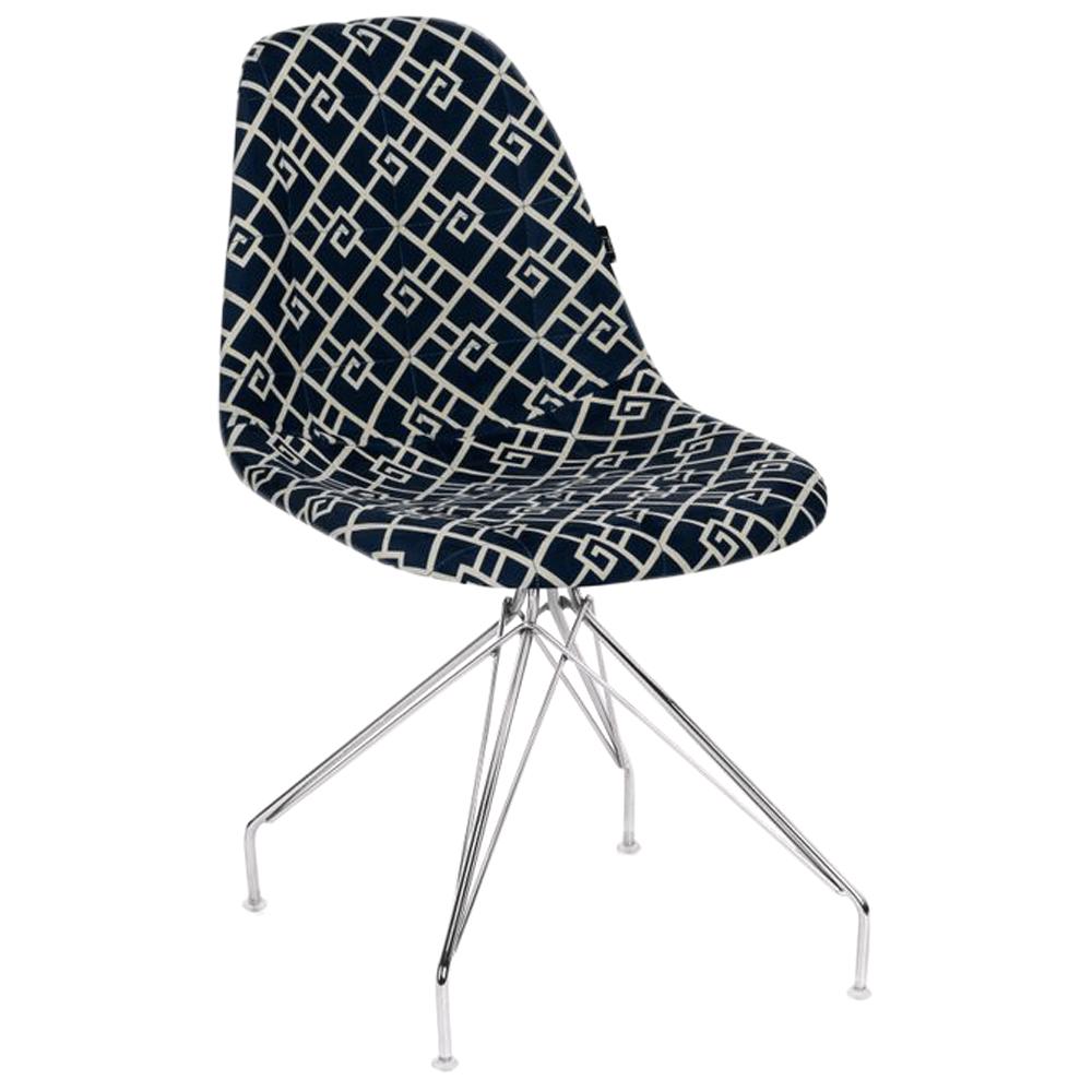 Стул Tilia Eos-X сиденье с тканью, ножки металлические хромированные ARTCLASS 805