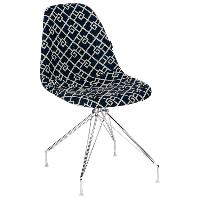 Стул Tilia Eos-X сиденье с тканью, ножки металлические хромированные ARTCLASS 805, фото 1