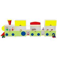Игровая мебель Паровоз для детского сада