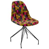 Стул Tilia Eos-X сиденье с тканью, ножки металлические крашеные COLOURBOX 7700, фото 1