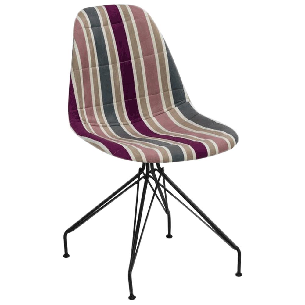 Стілець Tilia Eos-X сидіння з тканиною, ніжки металеві фарбовані ARTCLASS 903