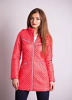 Яркая молодежная куртка демисезонная  с карманами модного кроя с утеплителем