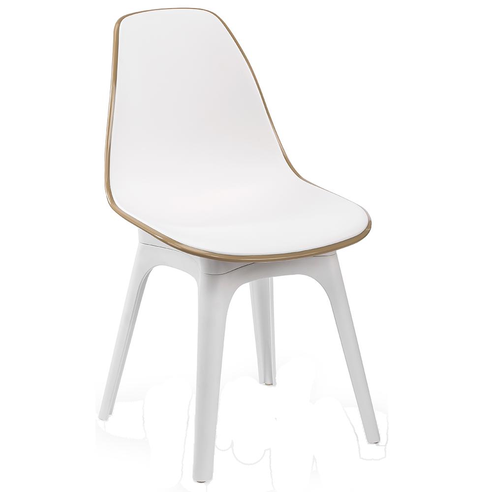 Стілець Tilia Eos біла слонова кістка - колір кави