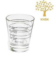 Мерный стакан  для приготовление кофе (эспрессо шот). 22мл,30мл,44мл,60мл.
