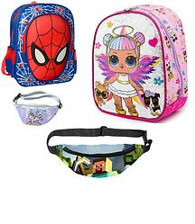 Детские рюкзачки сумочки бананки