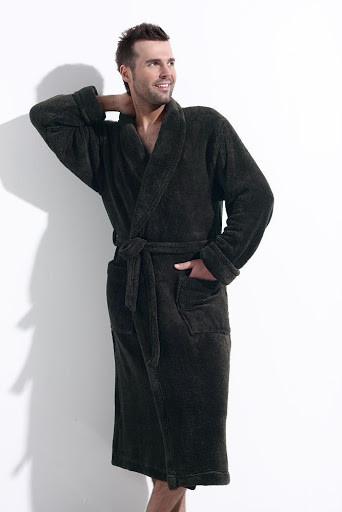 Чоловічий махровий халат для дому L&L WIKTOR L
