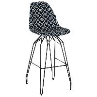 Стул барный Tilia Eos-X сиденье с тканью, ножки металлические крашеные ARTCLASS 805, фото 1