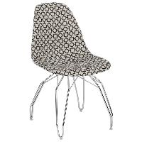 Стул Tilia Eos-M сиденье с тканью, ножки металлические хромированные ARTCLASS 802, фото 1