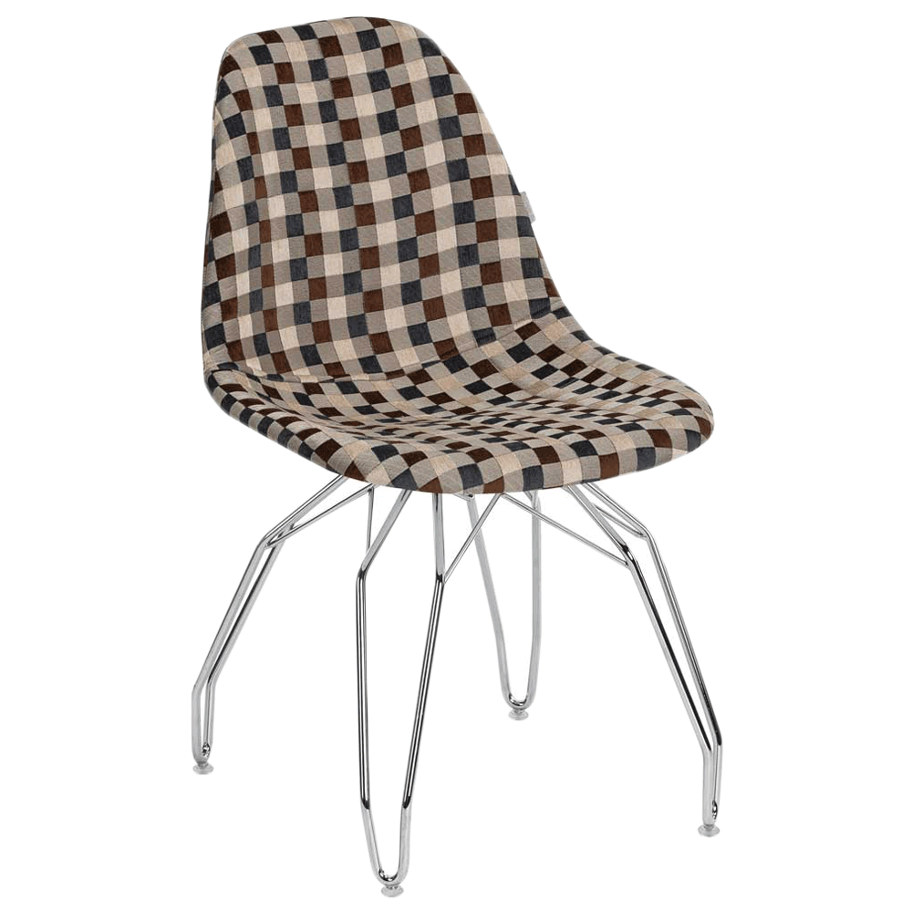 Стул Tilia Eos-M сиденье с тканью, ножки металлические хромированные ARTNUVO 46904 - V5