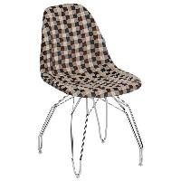 Стул Tilia Eos-M сиденье с тканью, ножки металлические хромированные ARTNUVO 46904 - V5, фото 1
