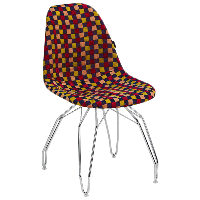 Стул Tilia Eos-M сиденье с тканью, ножки металлические хромированные ARTNUVO 46904 - V6, фото 1