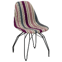Стул Tilia Eos-M сиденье с тканью, ножки металлические крашеные ARTCLASS 903, фото 1