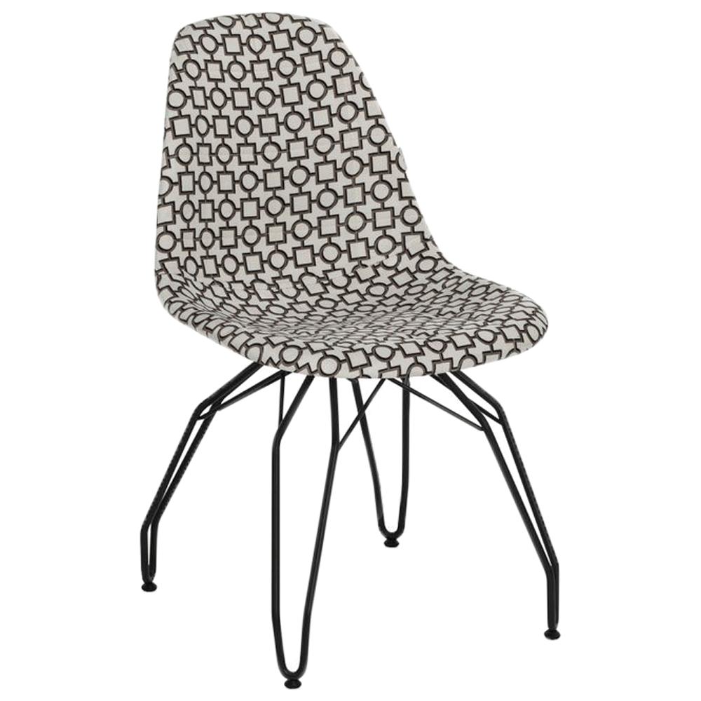 Стул Tilia Eos-M сиденье с тканью, ножки металлические крашеные ARTCLASS 802