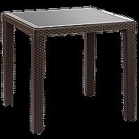 Стол Tilia Antares 80x80 см ножки пластиковые венге, фото 1