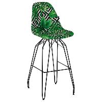 Стул барный Tilia Eos-M сиденье с тканью, ножки металлические крашеные VOKATO, фото 1