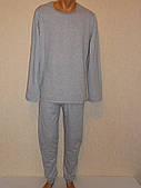 Нательное белье мужское серое(начес)