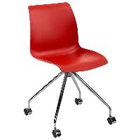 Стул Tilia Lazer-O ножки металлические красный