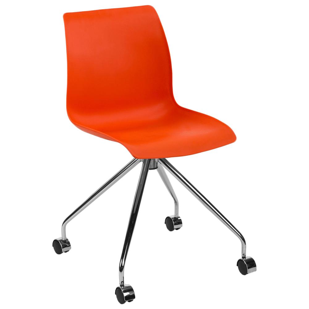 Стул Tilia Lazer-O ножки металлические оранжевый