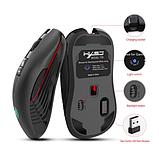 Безшумна бездротова миша SeenDa T30 2.4 G на акумуляторі 750mA 3600DPI для ПК і ноутбук, фото 6