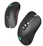 Безшумна бездротова миша SeenDa T30 2.4 G на акумуляторі 750mA 3600DPI для ПК і ноутбук, фото 5