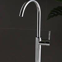 Кран для ванной высокий Sonic RD-262 хром