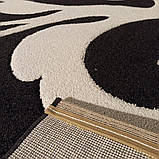 Ковер стриженый черно белый2х3 м., фото 2