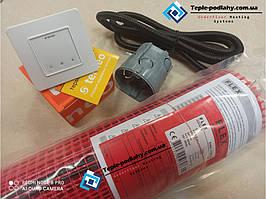 Тонкий  нагревательный кабель в мате  FLEX EHM - 4 м.кв 700 Вт серия Terneo S ( Спец Цена)