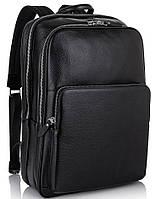 Мужской кожаный рюкзак для ноутбука на два отдела Tiding Bag NM11-184A