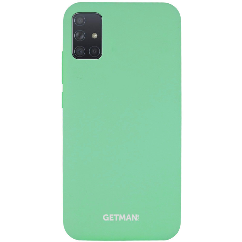 Чехол Silicone Cover GETMAN for Magnet для Samsung Galaxy A51