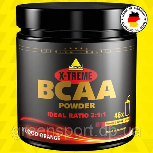 BCAA аминокислоты Inkospor X-Treme BCAA Powder 300 г Кровавый апельсин