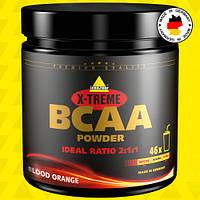 BCAA аминокислоты Inkospor X-Treme BCAA Powder 300 г Кровавый апельсин, фото 1