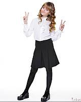 Школьная Юбка-шорты со складкой для девочек Lukas