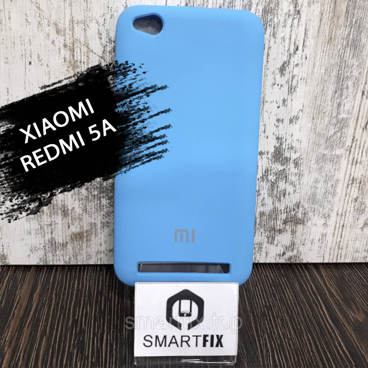 Силіконовий чохол для Xiaomi Redmi 5a Синій