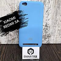Силіконовий чохол для Xiaomi Redmi 5a Синій, фото 1