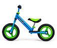 Суперлегкий Беговел велобіг від з підніжкою Milly Mally Sonic, 3 кг, фото 4