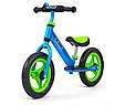 Суперлегкий Беговел велобіг від з підніжкою Milly Mally Sonic, 3 кг, фото 2