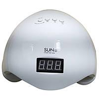 Профессиональная LED-лампа для сушки гелей и гель лаков SUN-5 Plus 48W + ПОДАРОК:Нескользящий коврик для
