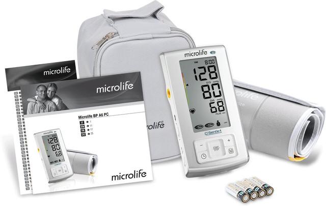 Комплектация тонометра Microlife BP A6 PC