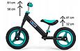 Суперлегкий Беговел велобіг від з підніжкою Milly Mally Sonic, 3 кг, фото 5