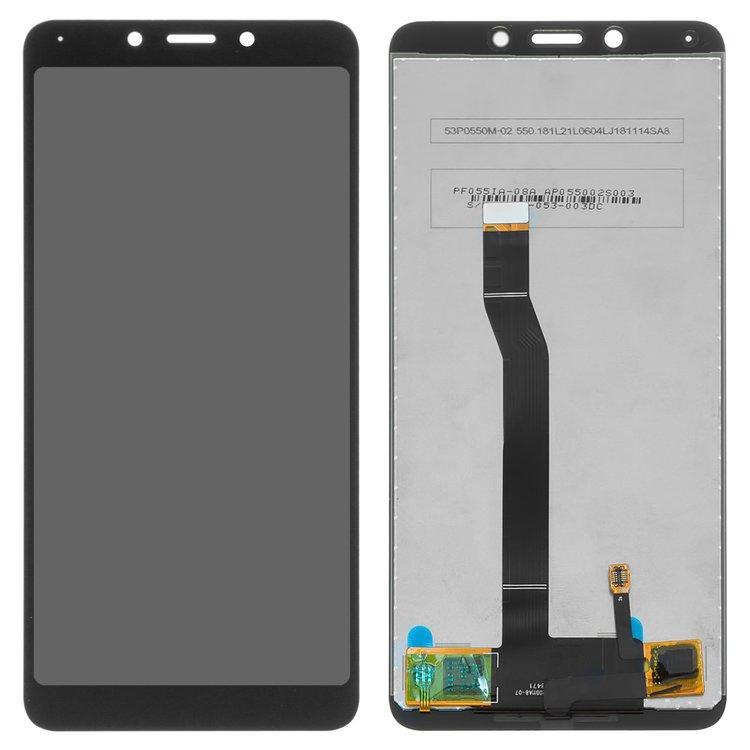 Дисплей (LCD) Xiaomi Redmi 6   Redmi 6a з тачскріном, чорний, оригінал (PRC)