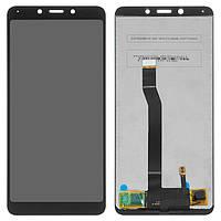 Дисплей (LCD) Xiaomi Redmi 6 | Redmi 6a з тачскріном, чорний, оригінал (PRC)