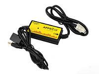 USB AUX MP3 WAV адаптер для магнитолы 6+6пин Toyota, Lexus, Scion