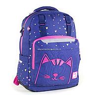 Рюкзак школьный YES Т-89 Cats фиолетовый (558137), фото 1
