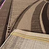 Ковер бежевый стрижный с цветами 2х3 м., фото 2