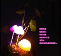 Светильник ночник.Светящиеся грибы в гаршке., фото 1
