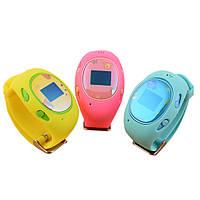 Умные часы для детей с GPS-трекером G65 + ПОДАРОК:Нескользящий коврик для телефона. Размер 11*9 см