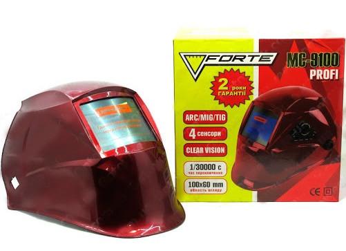 Сварочная маска Форте MC-9100 (хамелеон) (Clear Vision)